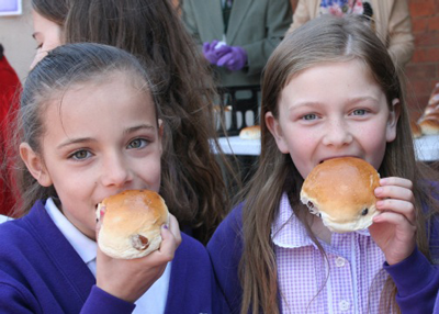 More Canons pupils with buns